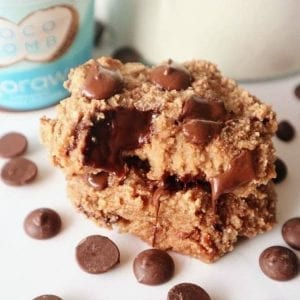 Coco Bomb Choc Chip Cookies from out blog