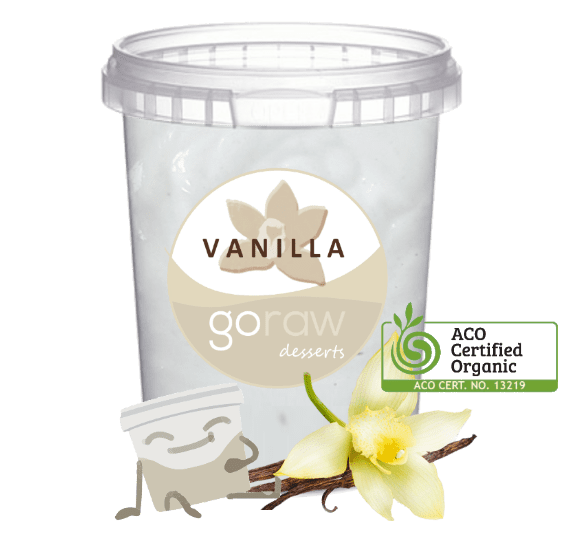 Organic Vanilla Mousse Tub